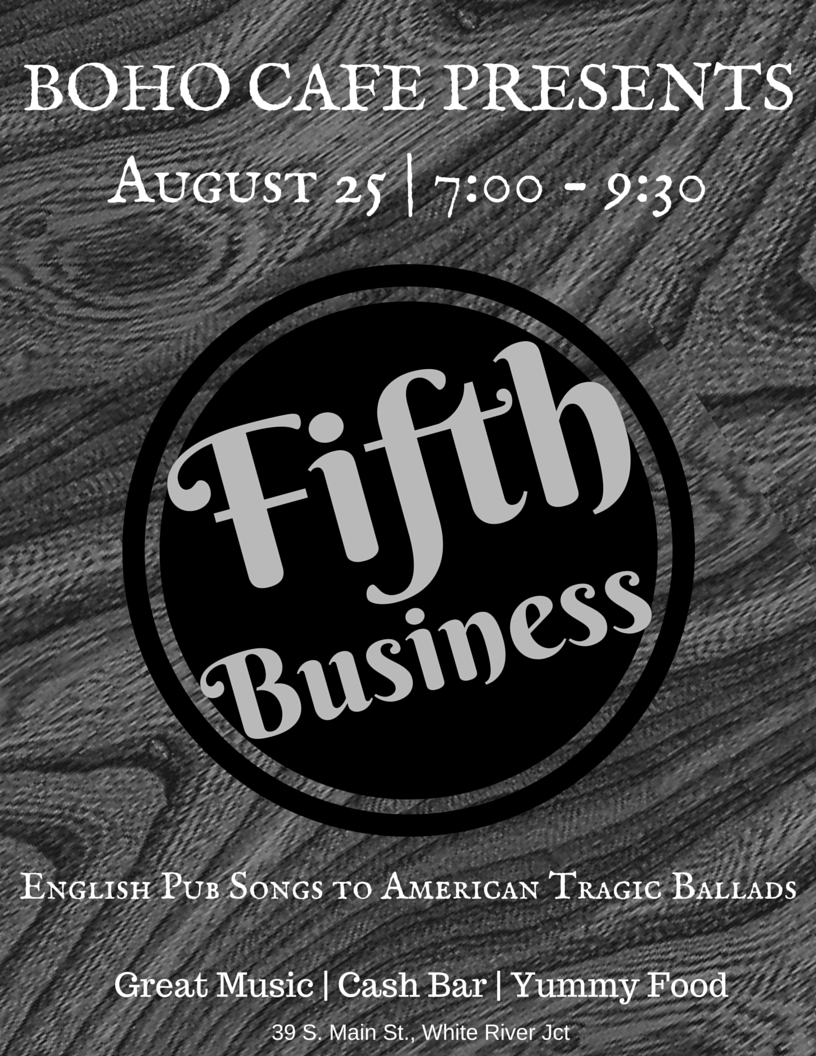 rebecca f bailey – many streams fifth business poster